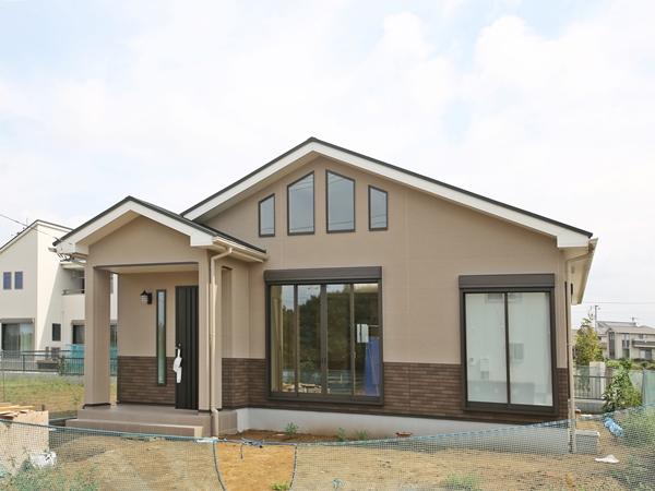まもなく完成 & 見学会開催予定の 平屋の住まい