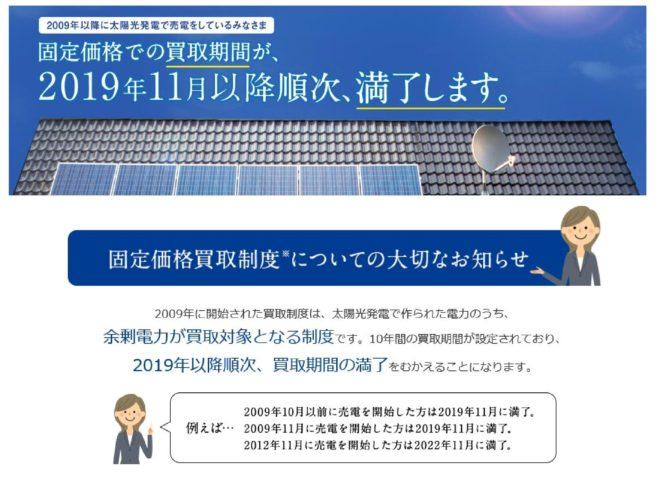 太陽光発電・売電期間10年後はどうなる?