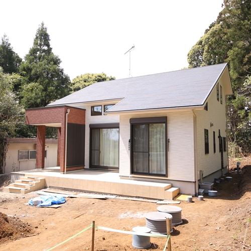 2018年4月完成の別荘(いすみ市)