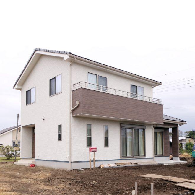 2018年10月 完成邸 (東金市)
