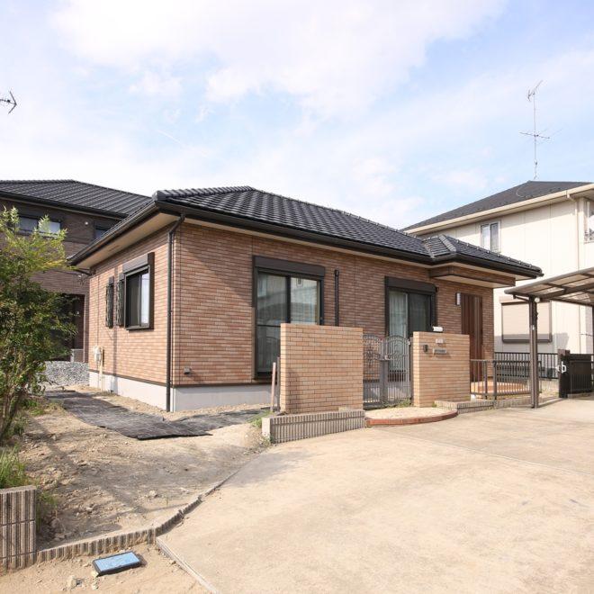 2018年8月完成 の 平屋 ( 大多喜町 )