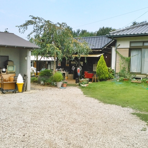 袖ヶ浦市の田舎カフェ