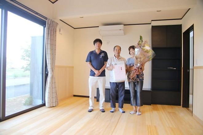 2015/8/25 上棟式&お引き渡し②